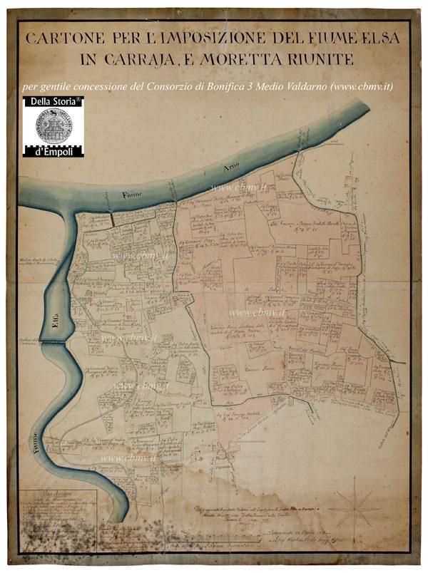 Mappe Dei Consorzi Idraulici Tra Settecento E Ottocento – Di Carlo Pagliai