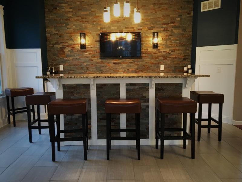 Avon Dining Room Bar  Della Vella Remodel