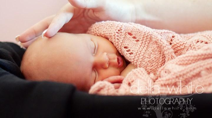 Yorba Linda Newborn Baby Photographer ~ Sleeping Beauty
