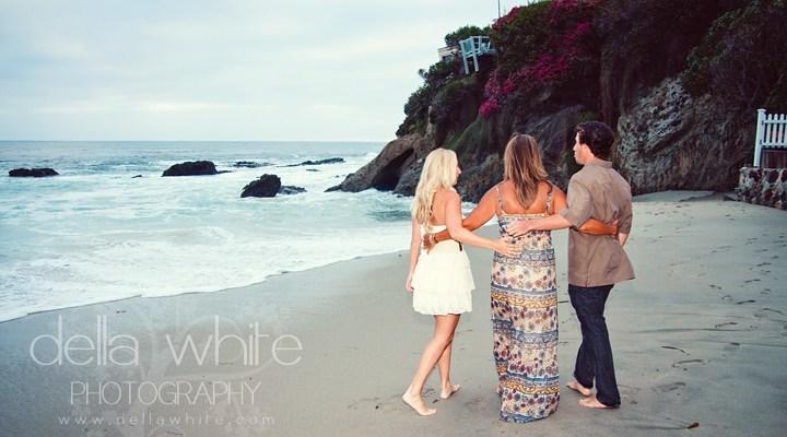 Laguna Beach Family Photographer ~ Brittany, Linda, & Nick!