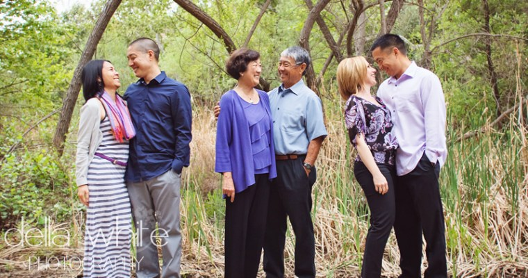 Orange County Family Photography at Santiago Oaks Park