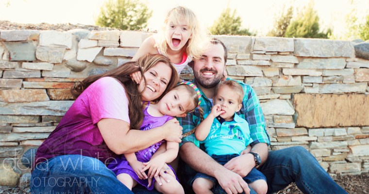 Norco Family Photography at Hidden Valley Nature Center