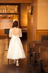 courthouse wedding bride