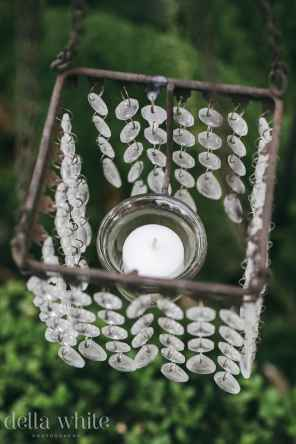 close up of decorative candle lantern