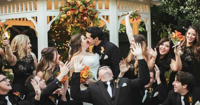 Christmas House Inn Wedding – Rancho Cucamonga