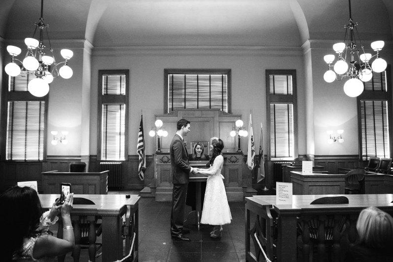 civil ceremony at old orange county courthouse