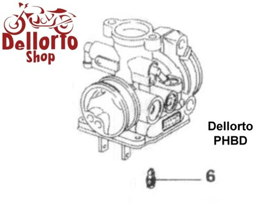 Dellorto PHBD Carburetor Parts