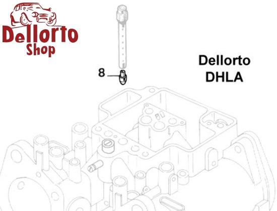 Dellorto DHLA Carburetor Parts