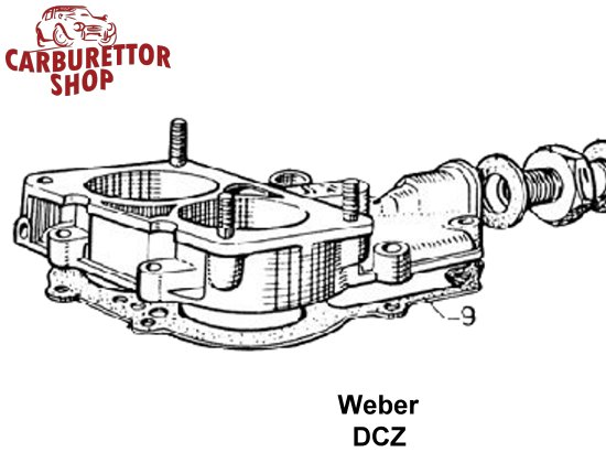 Weber DCZ Carburetor Parts