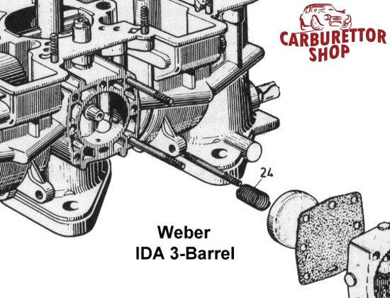 Weber IDS carburetor parts