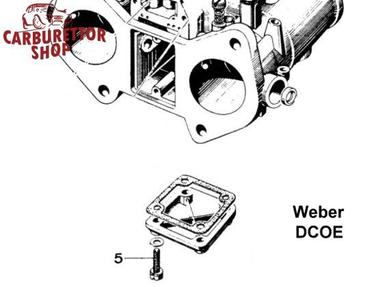 Weber DCOE and DCO/SP Carburetor Parts