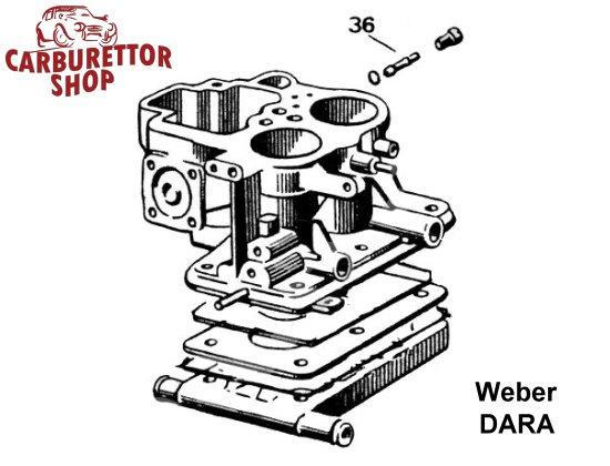 Weber DARA Carburetor Parts
