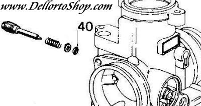 (40) O Ring for Dellorto PHBH carburetors for Cagiva Mito