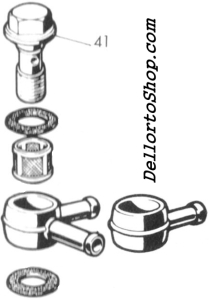 Dellorto DHLB Carburetor Parts