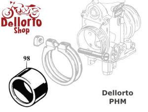 (98) Manifold Sleeve for Dellorto PHM carburetors for BMW
