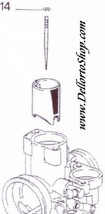 Dellorto PHVB Carburetor Parts