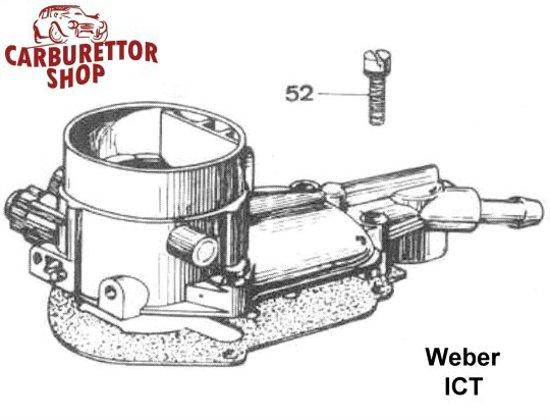 Weber ICT Carburetor Parts