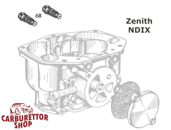 Zenith NDIX Carburetor Parts and Service Kits