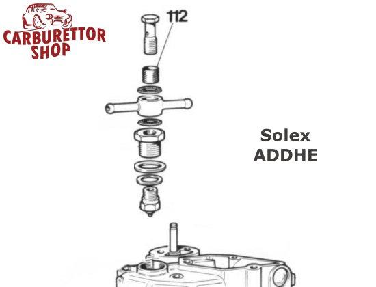 (112) Brass Mesh Filter for Solex ADDHE carburetors