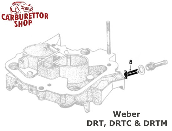 Weber DRT, DRTC and DRTM Parts and Service Kits
