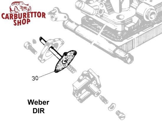 Weber DIR Carburetor Parts
