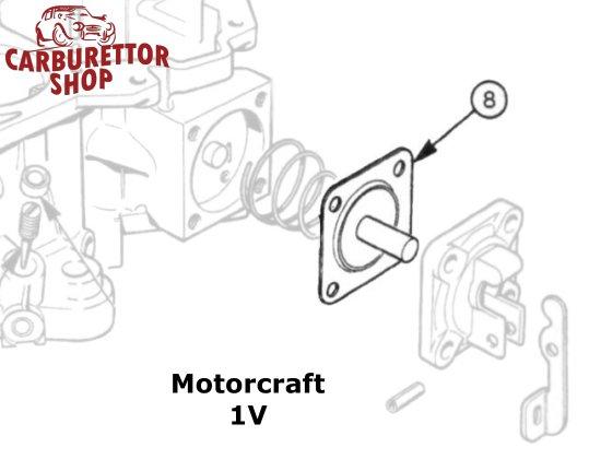 Motorcraft 1V carburetor parts