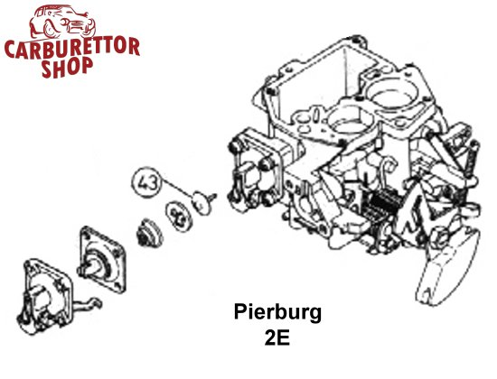 Pierburg 2E Carburetor Parts and Service Kits