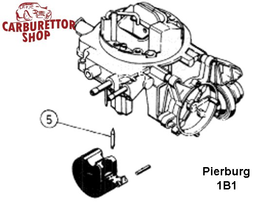 Pierburg 1B Carburetor Parts and Service Kits