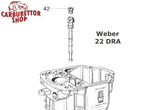 Weber DRA Carburetor Parts