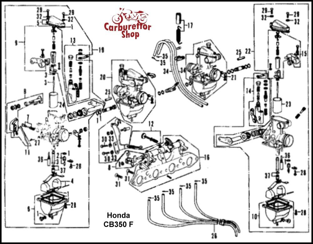 Keihin Vb Carb Diagram Honda Cb Carburetor Rebuild Motor Mayhem
