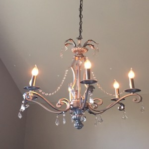 Antique of the Week - Chandelier 1 After