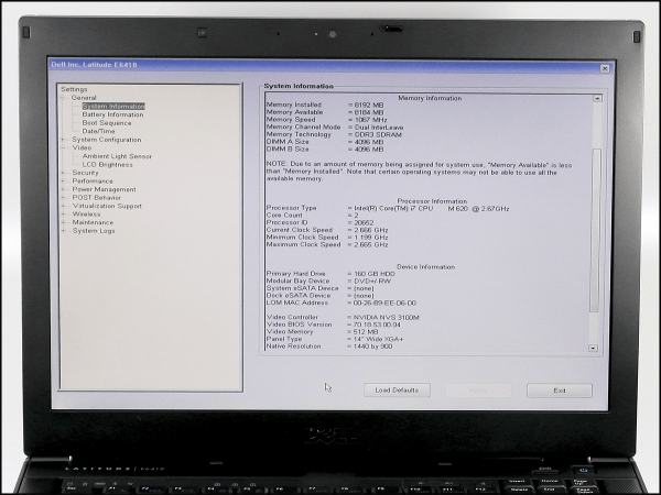 Dell Laptop Bios - Year of Clean Water