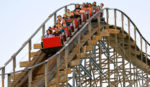 Roller Coaster At Mt Olympus As Presented By Meadowbrook Resort & Dells Packages In Wisconsin Dells