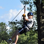 Bigfoot Zipline Tours As Presented By Meadowbrook Resort & Dells Packages In Wisconsin Dells