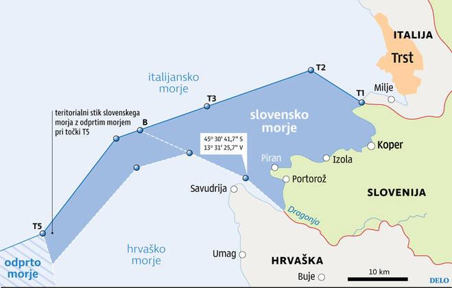 V živo: Piranski zaliv pretežno slovenski