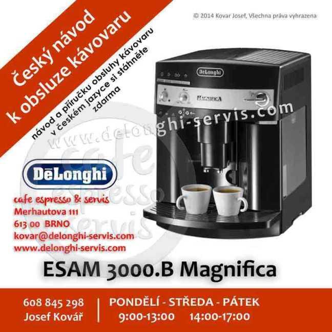 delonghi magnifica pronto cappuccino esam 4500 manual pdf