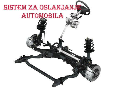 amortizer automobila sa oprugom rame viljuska stabilizatori