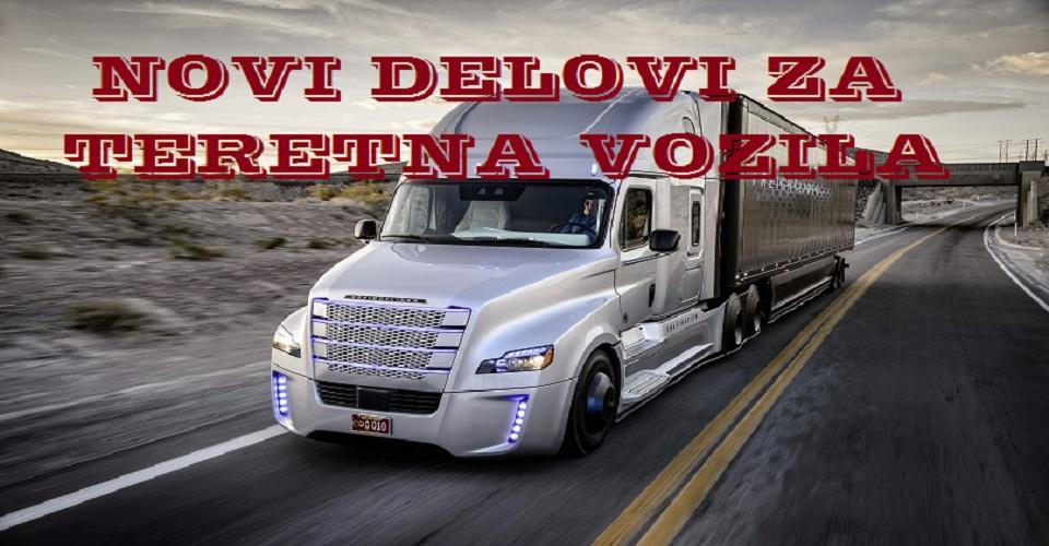 Novi delovi za kamione