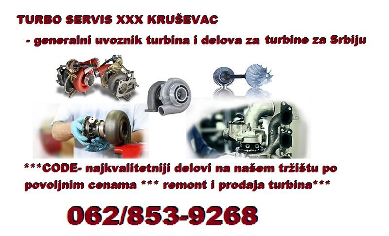 Reparacija turbine i setovi za reparaciju
