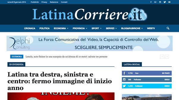 latinacorriere portfolio
