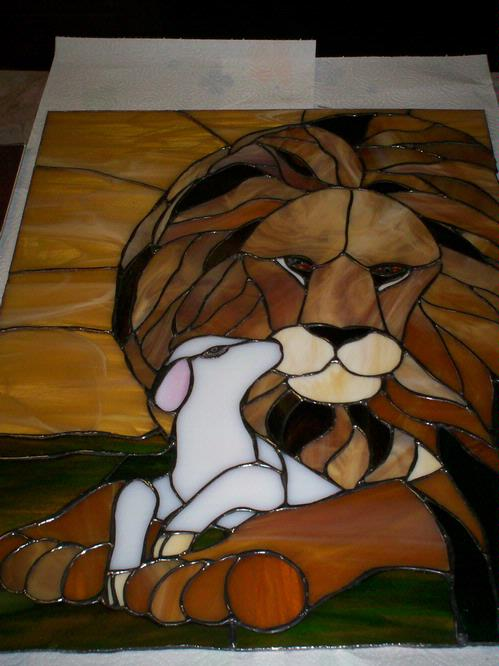 Lion And Lamb  Delphi Artist Gallery