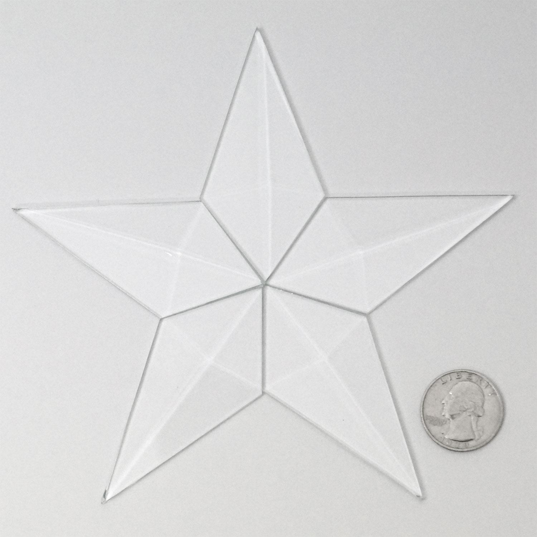 hight resolution of small barn star bevel cluster