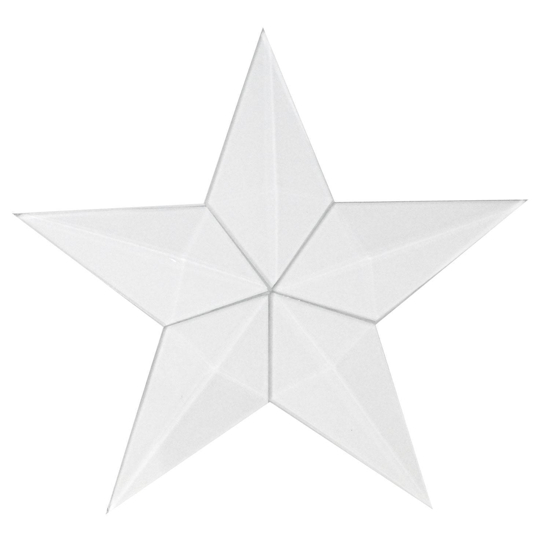 hight resolution of large barn star bevel cluster