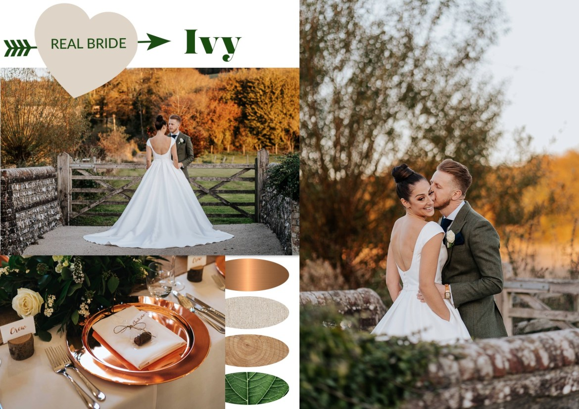 Real Autumn Bride: Ivy