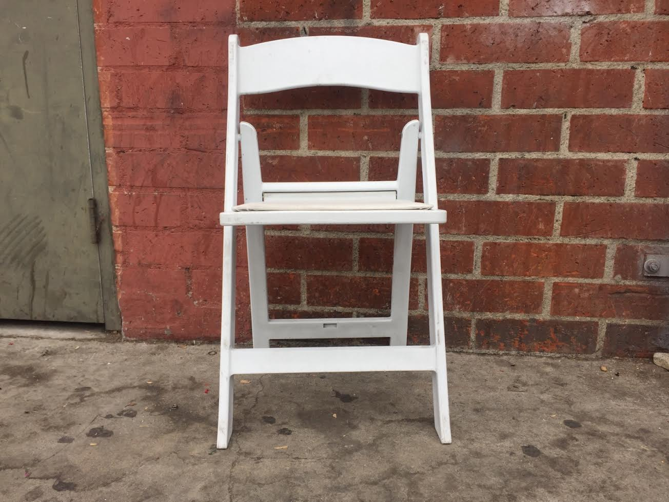 resin folding chairs for sale retro dining room table and white chair sold out del rey party rentals