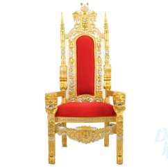 Purple High Chair Chinese Rosewood Dining Table And Chairs Gold Throne | Rentals King Queen Royalty