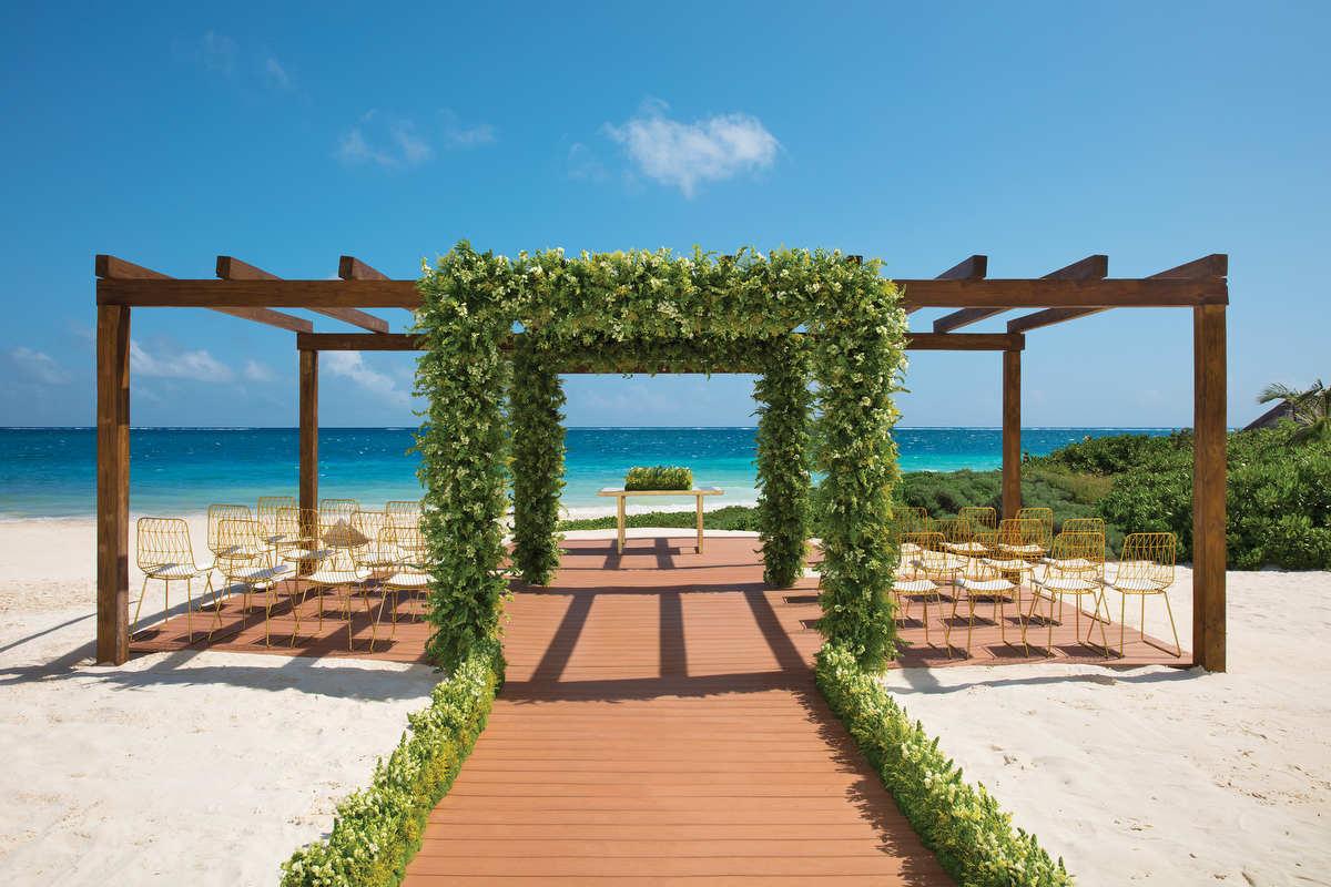 Vista del Mar Pergola Now Sapphire Riviera Cancun Mexico