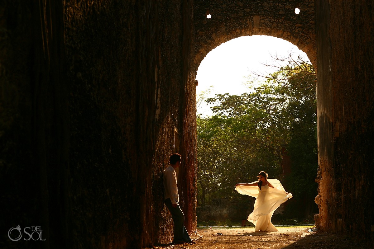 Most romantic elopement ideas Mexican Hacienda Wedding Hacienda Uayamon Campeche