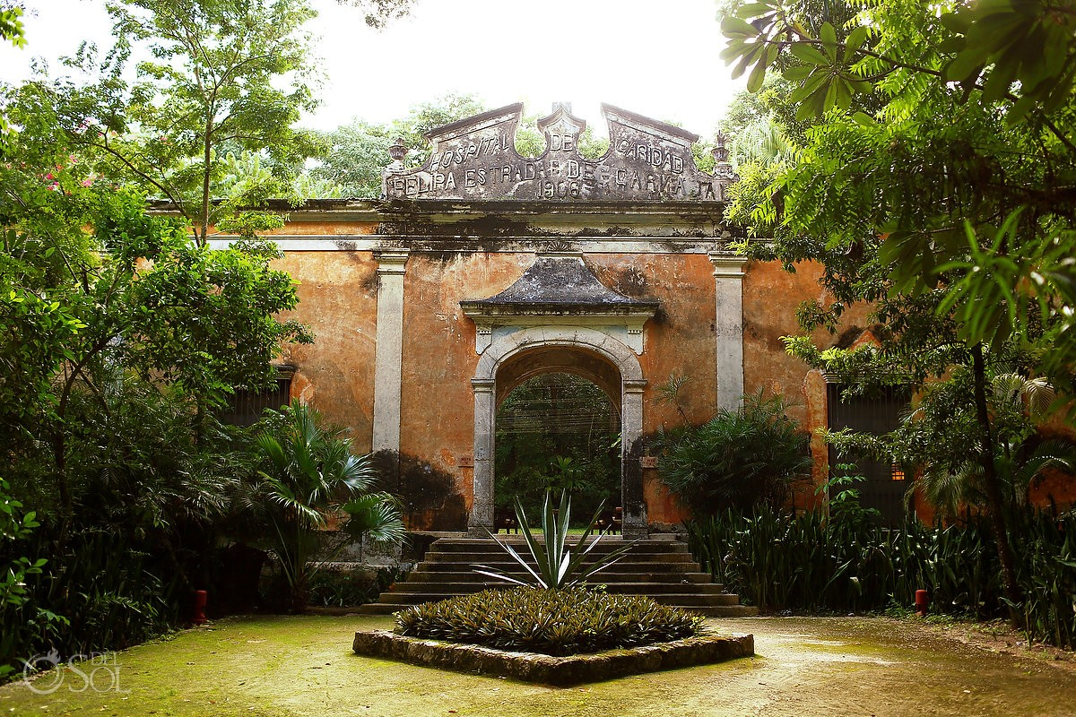 Mexico Elopement Ideas Hacienda Uayamon Campeche Mexico
