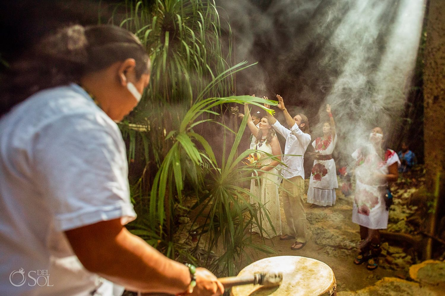 Mexico elopement ideas mayan ceremony Tulum Mexico